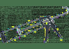 Profi-Skelett-Auspresspistole, 310 ml, mit Rücklaufstop