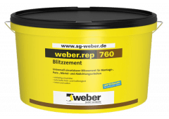 weber.rep 760 - Blitzzement