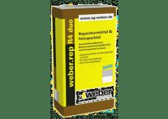 weber.rep R4 duo - Reparaturmörtel & Feinspachtel - 20kg