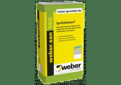 weber.san 950, 25kg - Spritzbewurf