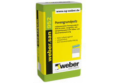 weber.san 952, 25kg - Porengrundputz