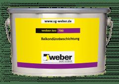 weber.tec 790, 6kg - Balkondünnbeschichtung