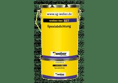 weber.tec 827/827 S - Flexible Reaktionsharzabdichtung