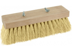 Teerbesen ohne Stiel, 220mm, Fibre-Borsten, 17x6 Reihen