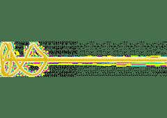 Universal-Mörtelrührer, Sechskant, gelb
