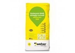 weber.san 958 - 20kg - Sanierputz weiß, einlagig+schnell