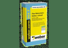 weber.xerm 864 F, 25kg - Flex-Natursteinkleber, schnell