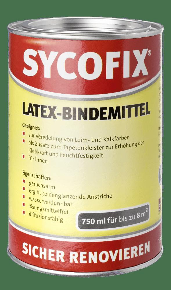 sycofix latex bindemittel farblos bauchemie24. Black Bedroom Furniture Sets. Home Design Ideas
