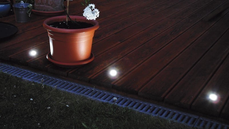Beko Terralight Terrassen Einbauleuchten Basis 4er Set