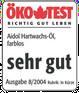 Oeko-Test-Siegel