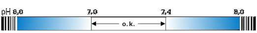 pH-Wert-Teststreifen