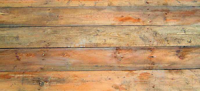 Wie können Holzfußböden ausgeglichen werden?