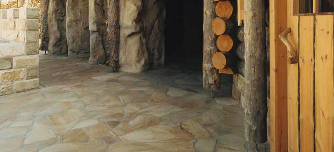 Wie werden Natursteinplatten im Dickbettverfahren verlegt?