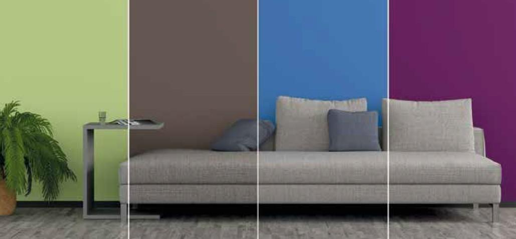 Putze und Farben für Innen
