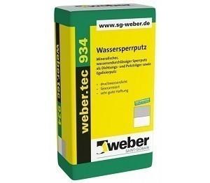 Weber Wassersperrputz